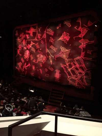 Minskoff Theatre Section Mezzanine Row Aa Seat 6