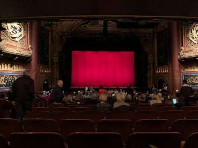 5th Avenue Theatre Section Lower Row Aa Seat 103