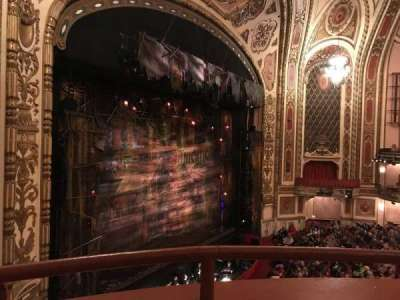 Cadillac Palace Theater, section: LOGE, row: 16, seat: 35