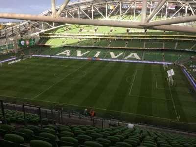 Aviva Stadium, section: 523, row: X, seat: 8
