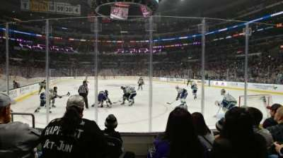 Staples center, section: 107, row: 6, seat: 14, 15