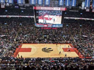 Scotiabank Arena, section: 321, row: 10, seat: 21