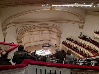 Carnegie Hall section Balcony