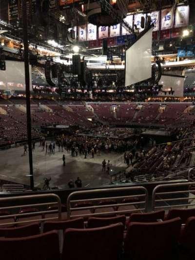 Wells Fargo Center, section: 121, row: 24, seat: 6