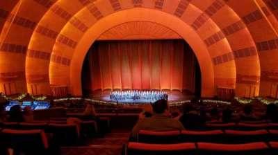 Radio City Music Hall, section: 2nd mezzanine 3, row: G, seat: 310