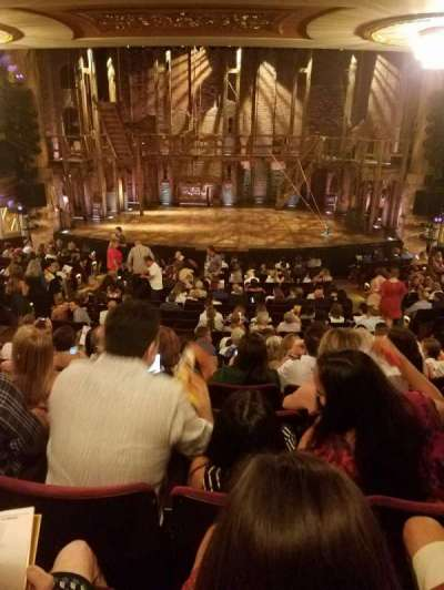Richard Rodgers Theatre section ORCHESTRA C