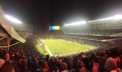 Soldier Field, section: 325, row: 10, seat: 5