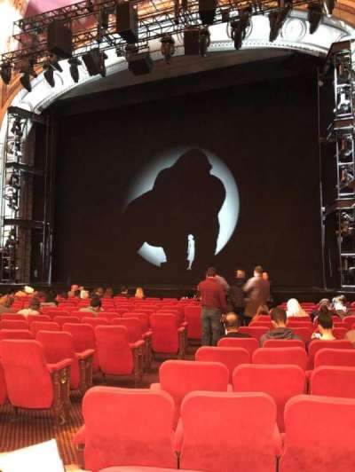 Broadway Theatre - 53rd Street, section: Orchestra, row: O, seat: 5