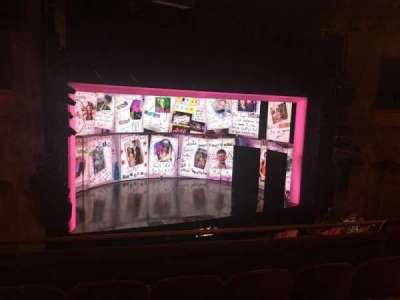 August Wilson Theatre section Mezz L