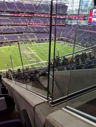 U.S. Bank Stadium section 214