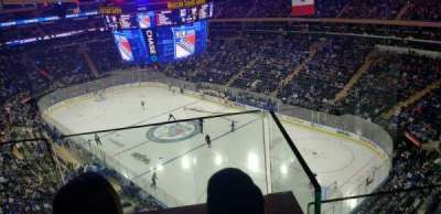 Madison Square Garden, section: 301, row: 2, seat: 15