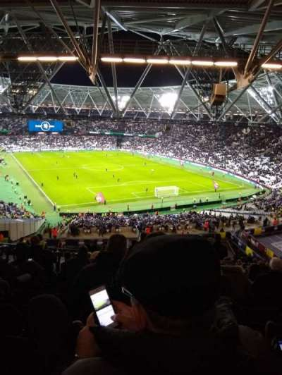 London Stadium section 218
