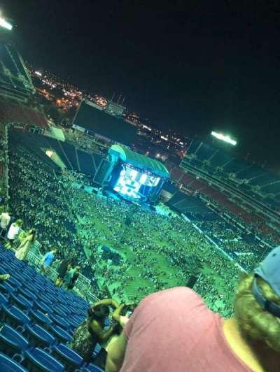 Nissan Stadium section 327