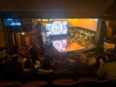 Belasco Theatre section mezzanine