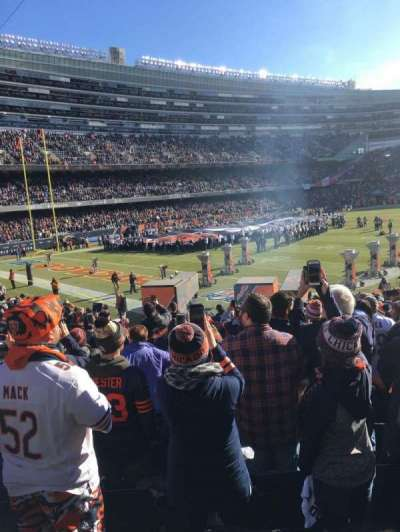 Soldier Field section 146