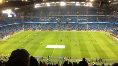 Etihad Stadium (Manchester), section: 325, row: CC, seat: 720