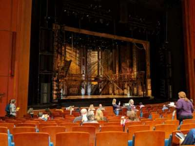 Au-Rene Theatre at the Broward Center section Orchestra L