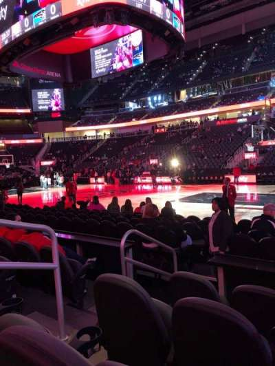 State Farm Arena, section: 106, row: DD, seat: 7