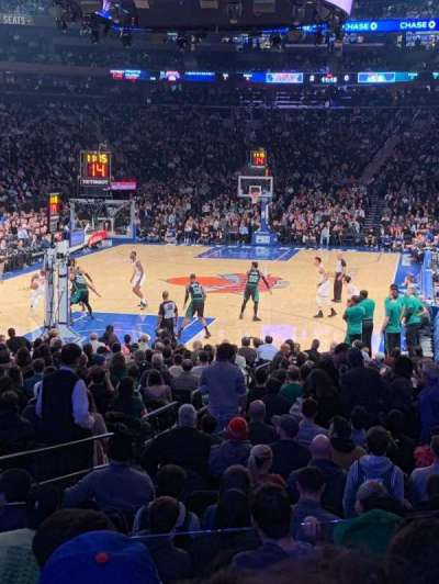 Madison Square Garden section 103