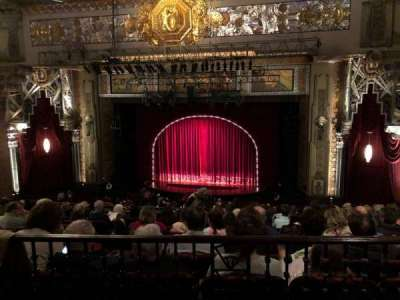 Hollywood Pantages Theatre, section: MezzRC, row: J, seat: 205
