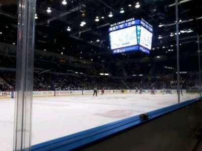 Blue Cross Arena, section: 104, row: A, seat: 8