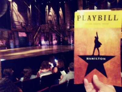 Richard Rodgers Theatre section ORCH L