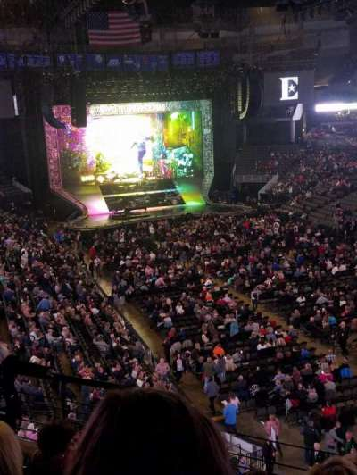 CHI Health Center Omaha, section: 215, row: F, seat: 8