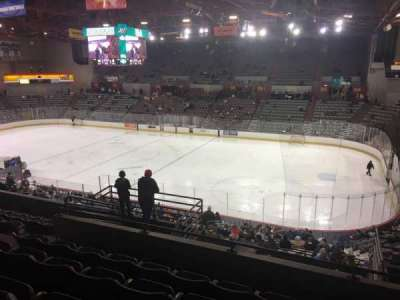 Sullivan Arena, section: 205, row: 9, seat: 4