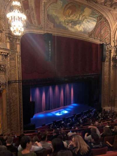 Chicago Theatre section Balcony1L
