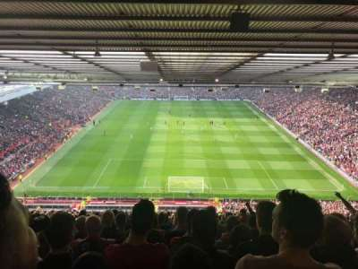 Old Trafford, section: E333, row: 34, seat: 95