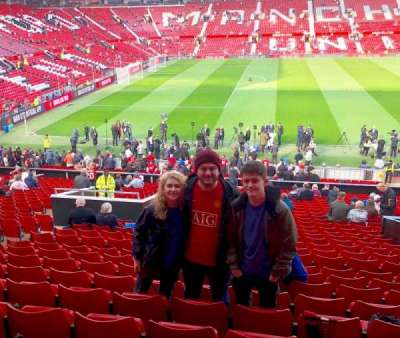 Old Trafford, section: S122, row: 27, seat: 196