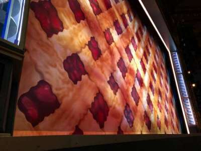 Brooks Atkinson Theatre, section: Orchestra, row: AA, seat: 7