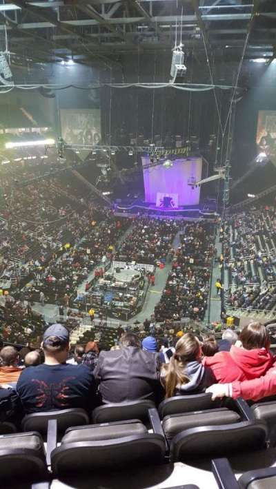 Sprint Center section 232