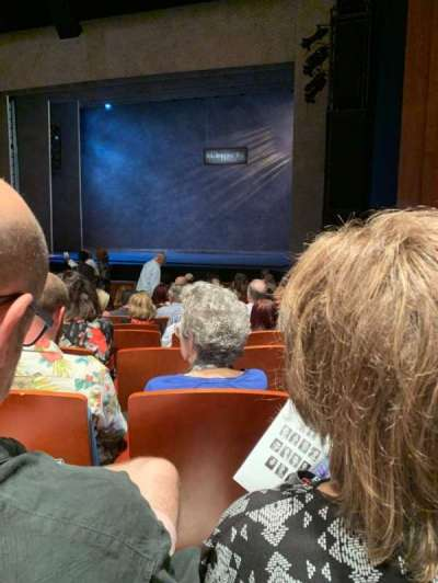 Au-Rene Theatre at the Broward Center section Orchestra R