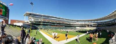 McLane Stadium, section: 131, row: 3, seat: 3
