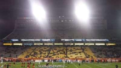 Sun Devil Stadium, section: 30, row: 10, seat: 3
