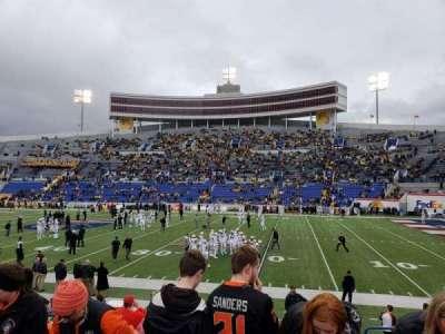 Liberty Bowl Memorial Stadium, section: 102, row: 14