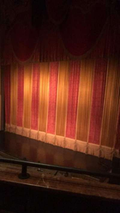 Ohio Theatre (Columbus), section: Loge A, row: B, seat: 12