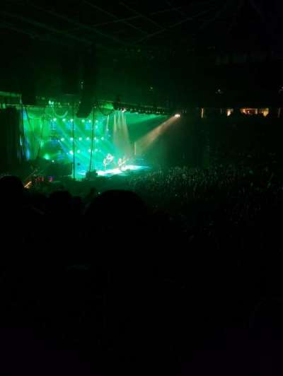 Colonial Life Arena, section: 105, row: 23, seat: 7