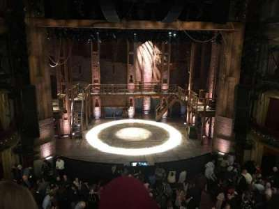 CIBC Theatre, section: Mezz LC, row: B, seat: 303