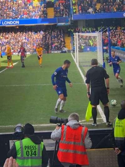 Stamford Bridge, section: 1, row: 10, seat: 4
