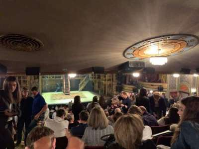 Richard Rodgers Theatre section Standing Room Only