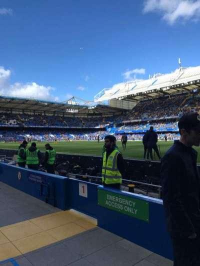 Stamford Bridge, section: WL1, row: 1, seat: 146