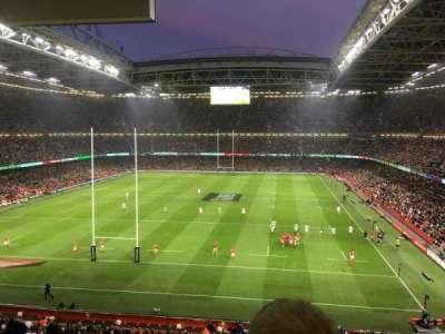 Principality Stadium, section: UN1, row: 24, seat: 12