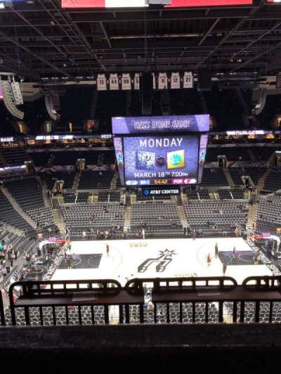 AT&T Center section 208
