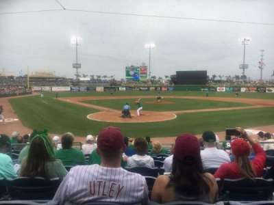 BayCare Ballpark, section: 110, row: 10, seat: 6