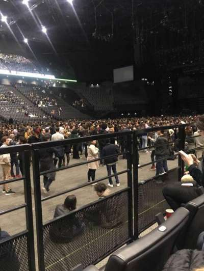 AccorHotels Arena, section: Carré Or, row: 27, seat: 16