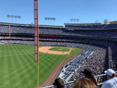 Dodger Stadium, section: 55RS, row: C, seat: 11