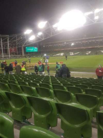 Aviva Stadium section Block 123