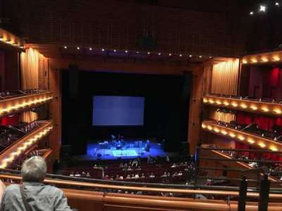 Tobin Center for Performing Arts, section: Left Mezzanine, row: C, seat: 2